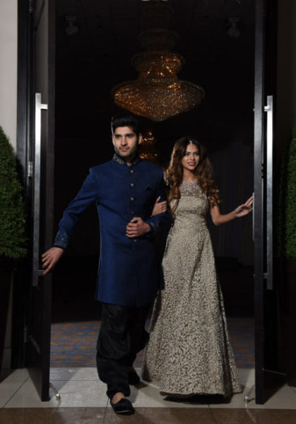 Our Suhaag 2018 centrepiece Womenswear - Zedds boutique Menswear - Mahodaya